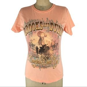 3/$25 Brooks and Dunn Cowgirls Don't Cry Band Tee